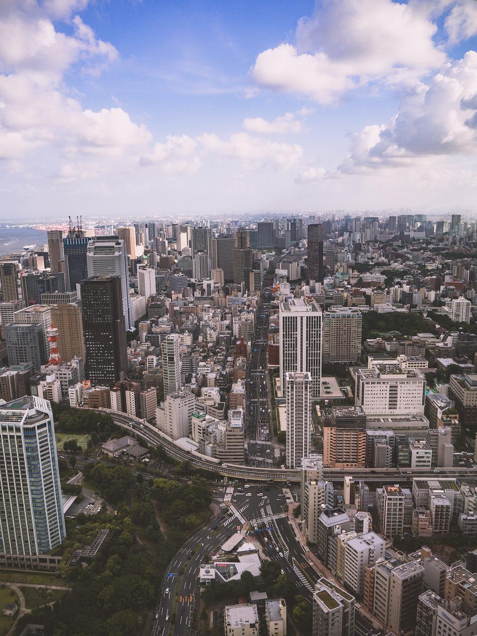 City Tokyo Panorama Buildings  - hdscpt / Pixabay